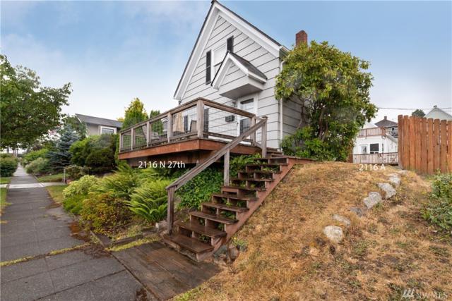 2116 N 27th St, Tacoma, WA 98403 (#1491995) :: Keller Williams Western Realty