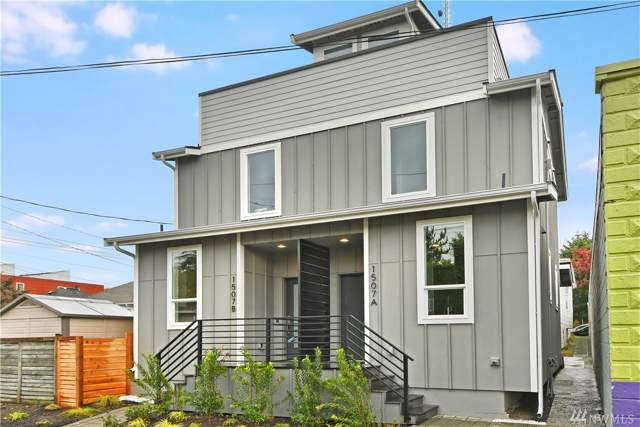 1507-B 1st Ave W, Seattle, WA 98119 (#1530491) :: Better Homes and Gardens Real Estate McKenzie Group