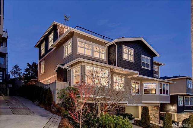 512 Prospect St A, Seattle, WA 98109 (#1564062) :: Ben Kinney Real Estate Team