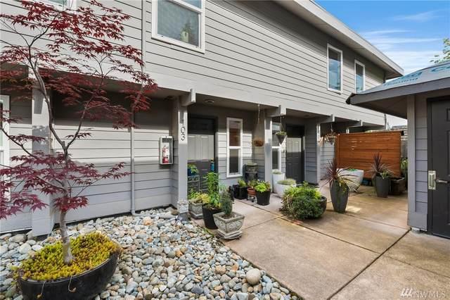 10001 NE 12th St #103, Bellevue, WA 98004 (#1610184) :: Keller Williams Realty