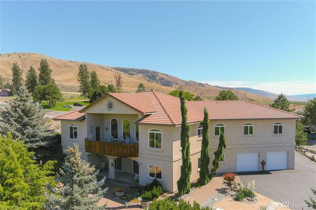 702 Desert Canyon Blvd, Orondo, WA 98843 (MLS #1619393) :: Nick McLean Real Estate Group