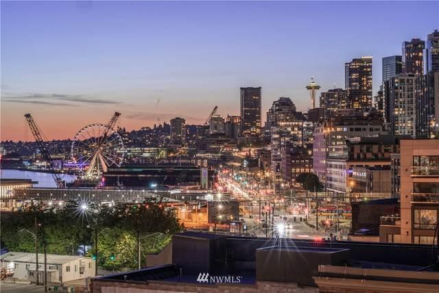 97 S Jackson #505, Seattle, WA 98104 (#1636459) :: Hauer Home Team