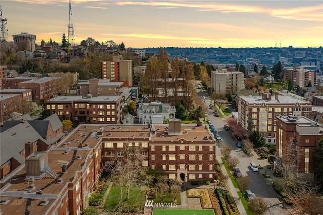 100 W Highland Drive #401, Seattle, WA 98119 (#1790356) :: Better Properties Lacey