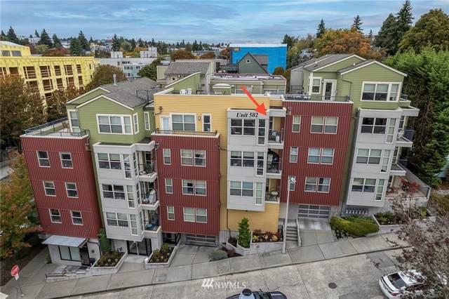 1310 N Lucas Place #502, Seattle, WA 98103 (#1853914) :: McAuley Homes