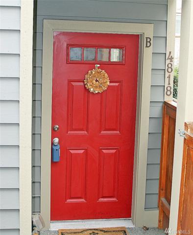 4818 40th Ave SW B, Seattle, WA 98116 (#1217630) :: Ben Kinney Real Estate Team