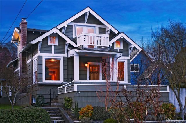 316 N 73rd St, Seattle, WA 98103 (#1257091) :: Keller Williams - Shook Home Group