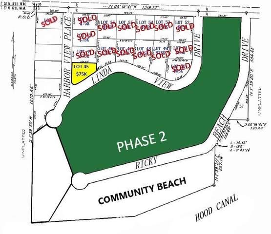 0 Lot 45 Harbor View Place, Port Ludlow, WA 98365 (#1568792) :: NextHome South Sound