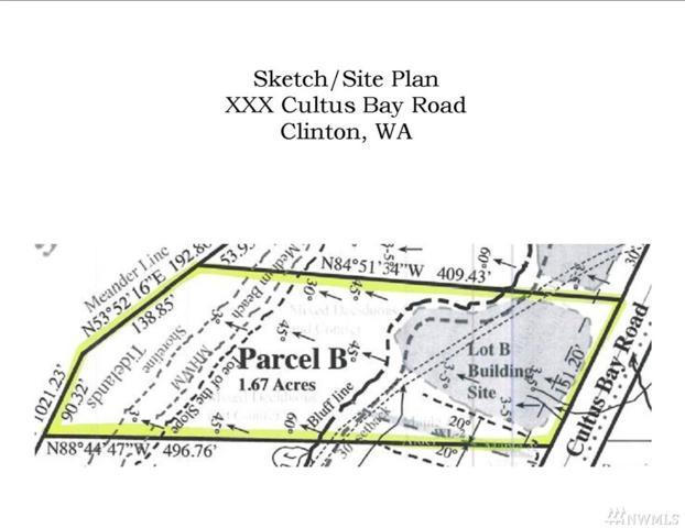 0-XXX Cultus Bay Rd, Clinton, WA 98236 (#865210) :: Ben Kinney Real Estate Team