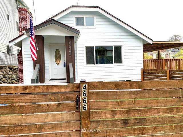 4666 S Willow Street, Seattle, WA 98118 (#1581355) :: Better Properties Lacey