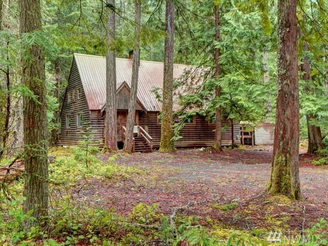 142 Silver Springs - Usfs, Greenwater, WA 98022 (#1125488) :: Homes on the Sound
