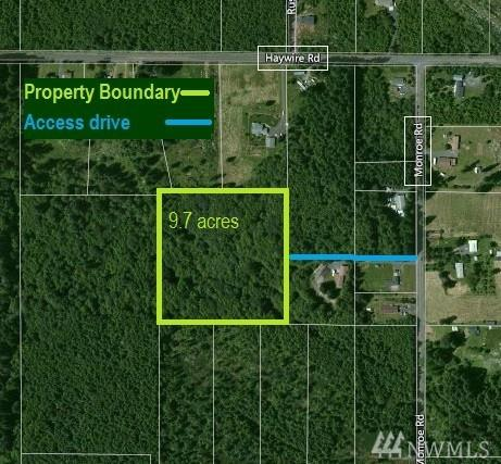 0 Monroe Rd, Napavine, WA 98596 (#1138091) :: Ben Kinney Real Estate Team