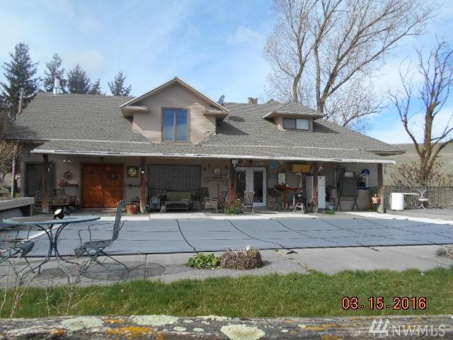 608 S Benge-Washtucna Rd, Washtucna, WA 99371 (#1147670) :: Ben Kinney Real Estate Team