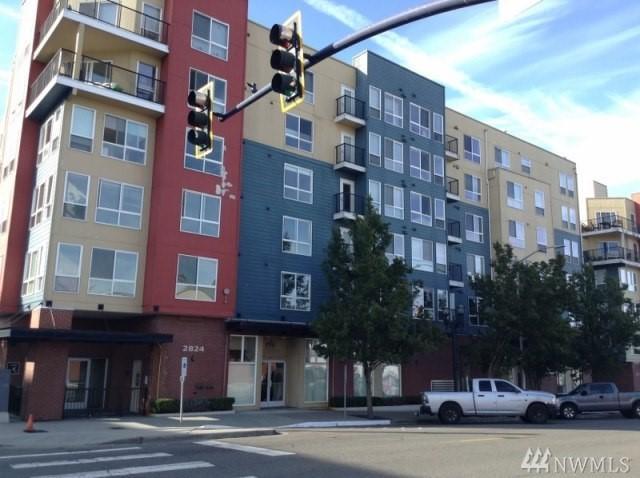 2824 Grand Ave A403, Everett, WA 98201 (#1207022) :: Ben Kinney Real Estate Team