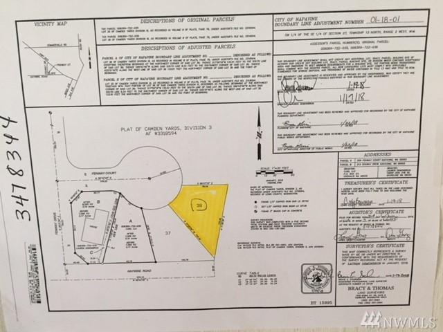 205 Fenway Ct, Napavine, WA 98565 (#1241134) :: Brandon Nelson Partners