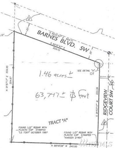 0 Barnes Blvd SW, Tumwater, WA 98512 (#1266544) :: The Robert Ott Group