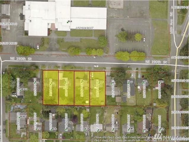 817-835-829- NE 190th St, Shoreline, WA 98155 (#1328860) :: Keller Williams Realty Greater Seattle