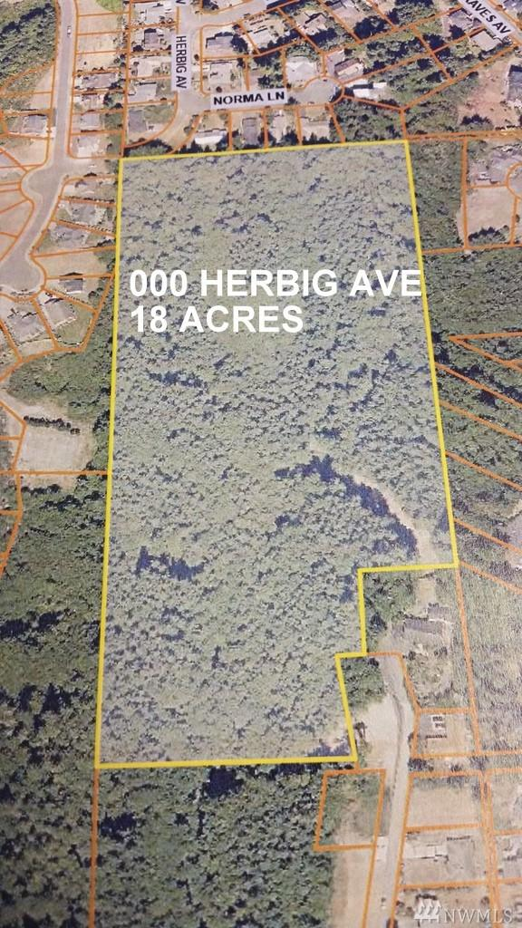 0 Herbig Ave, Aberdeen, WA 98520 (#1361470) :: Homes on the Sound