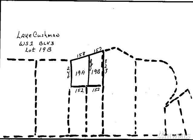 0-Lot 19B Lake Cushman Ridge Road, Hoodsport, WA 98548 (#1372271) :: The Home Experience Group Powered by Keller Williams