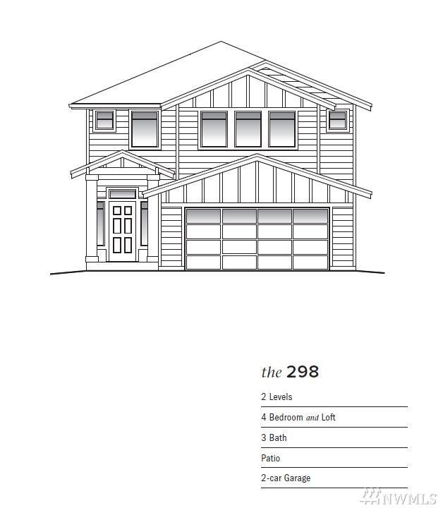 9129 S 200th (Lot 41) Place, Kent, WA 98031 (#1445469) :: NW Homeseekers