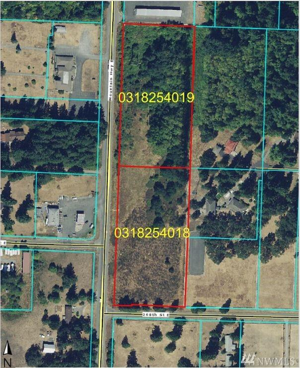 26527 Mountain Hwy, Spanaway, WA 98387 (#1490146) :: McAuley Homes