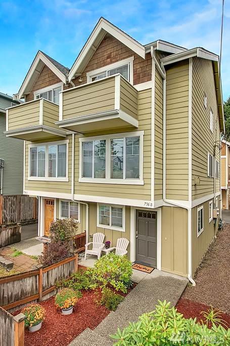 736 N 95th St B, Seattle, WA 98103 (#1529579) :: Beach & Blvd Real Estate Group