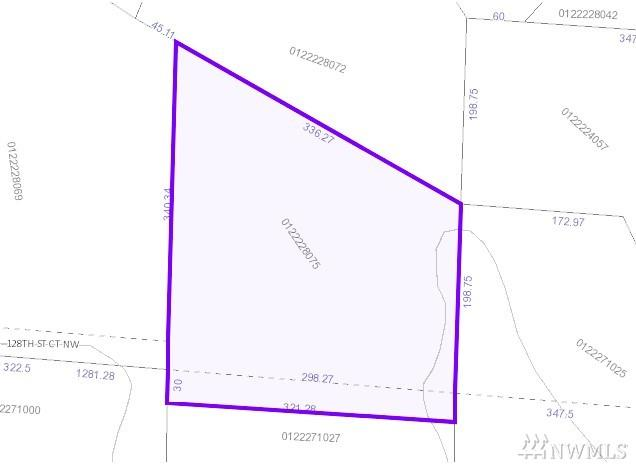 0 128th St Ct NW Lot B, Gig Harbor, WA 98329 (#1200733) :: Homes on the Sound