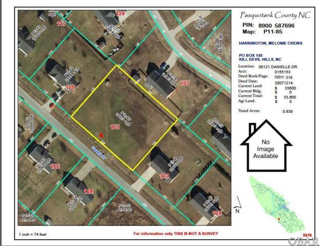 121 Danielle Drive Lot, Elizabeth City, NC 27909 (MLS #100165) :: Surf or Sound Realty