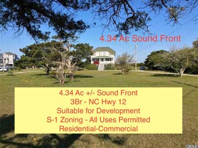 25478 Nc 12 Highway Lots 1+2+3, Waves, NC 27982 (MLS #103049) :: Surf or Sound Realty