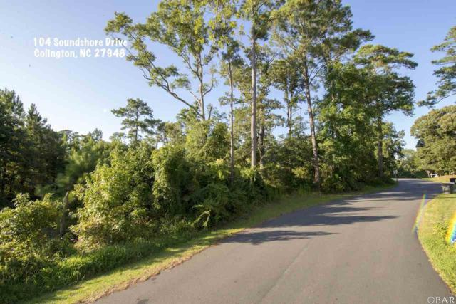 104 Soundshore Drive Lot 20-C, Kill Devil Hills, NC 27948 (MLS #103856) :: Outer Banks Realty Group