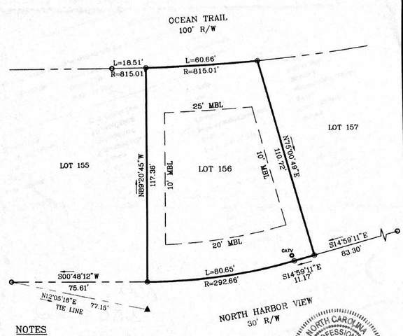 976 N Harbor View Lot 156, Corolla, NC 27927 (MLS #109915) :: Sun Realty