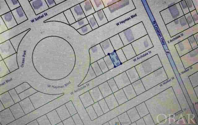 W Archdale Street Lot 10 & 11, Kill Devil Hills, NC 27948 (MLS #114752) :: Great Escapes Vacations & Sales