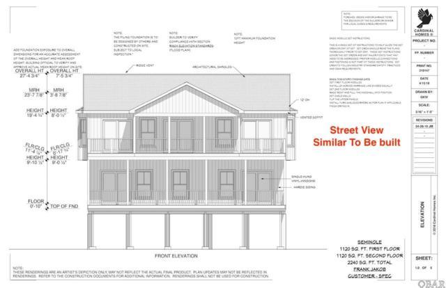 24226 Dean Avenue Lot 44, Rodanthe, NC 27968 (MLS #104743) :: Hatteras Realty