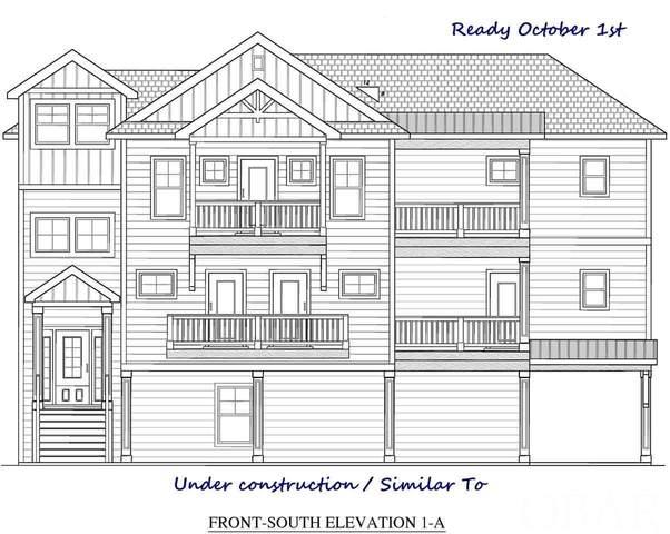 647 Tide Arch Lot 140, Corolla, NC 27927 (MLS #108684) :: Corolla Real Estate | Keller Williams Outer Banks