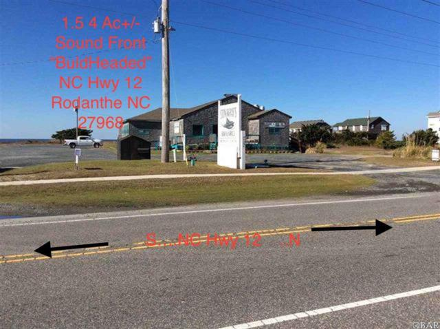 24394 Nc 12 Highway Lot # 1 & 2, Rodanthe, NC 27968 (MLS #102770) :: Midgett Realty