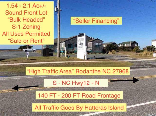 24394 Nc 12 Highway Lot # 1 & 2, Rodanthe, NC 27968 (MLS #102770) :: Outer Banks Realty Group
