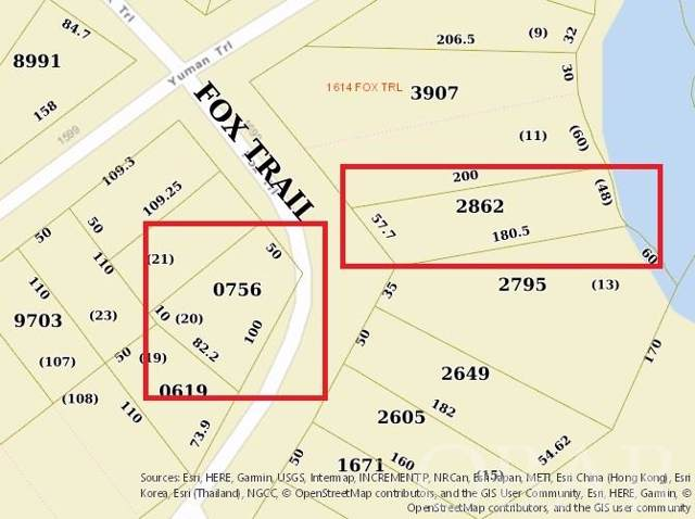 1605 & 1610 Fox Trail Lots 12 & 20, Edenton, NC 27932 (MLS #99802) :: Outer Banks Realty Group