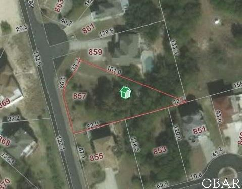 857 Capri Crescent Lot 273, Corolla, NC 27927 (MLS #103678) :: Outer Banks Realty Group