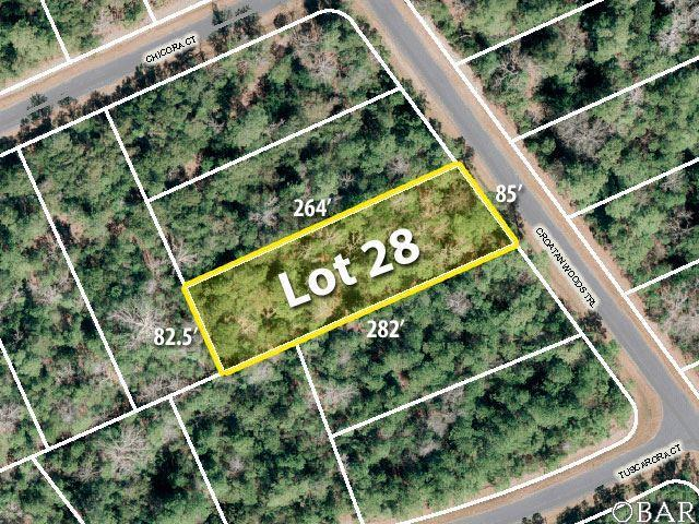 169 Croatan Woods Trail Lot 28, Manteo, NC 27954 (MLS #104616) :: Hatteras Realty