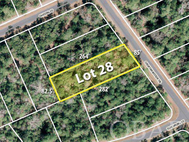 169 Croatan Woods Trail Lot 28, Manteo, NC 27954 (MLS #107936) :: Brindley Beach Vacations & Sales