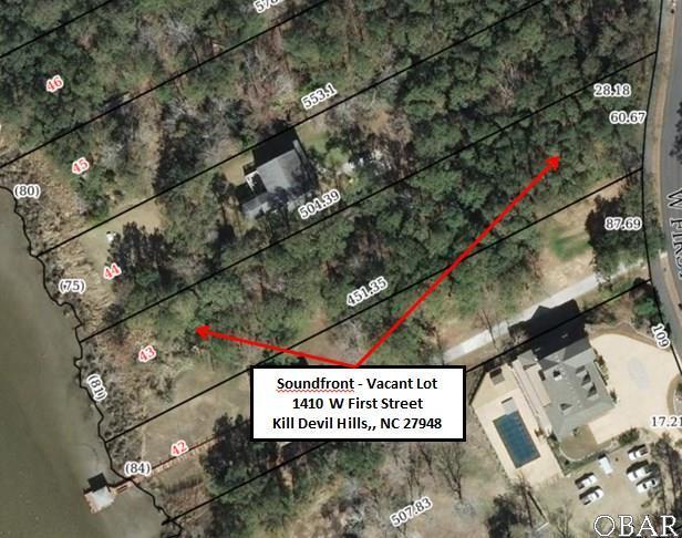 1410 First Street Lot 43, Kill Devil Hills, NC 27948 (MLS #99899) :: Hatteras Realty
