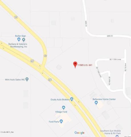 11585 SE Us Highway 441, Belleview, FL 34420 (MLS #533893) :: Pepine Realty