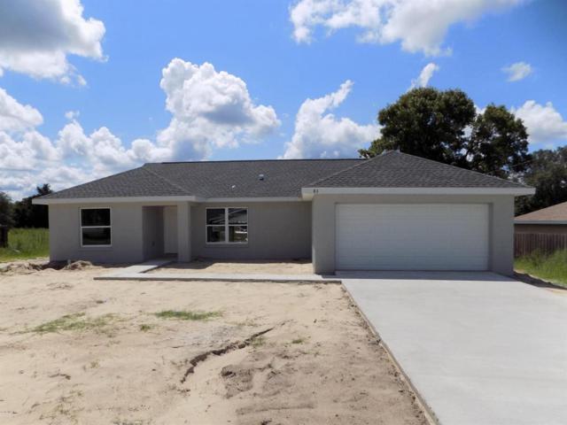 83 Juniper Trail Loop, Ocala, FL 34480 (MLS #539787) :: Bosshardt Realty