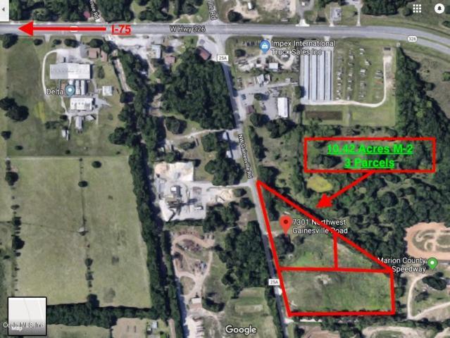 7301 NW Gainesville Road, Ocala, FL 34475 (MLS #544091) :: Bosshardt Realty