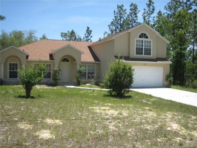 896 W Smallman Place, Citrus Springs, FL 34434 (MLS #550691) :: Bosshardt Realty