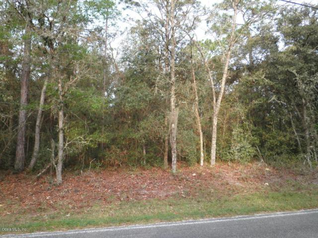 LOT 58 Sw 181St Court, Dunnellon, FL 34432 (MLS #552689) :: Realty Executives Mid Florida