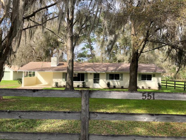 551 SW 85 Street, Ocala, FL 34476 (MLS #552739) :: Thomas Group Realty