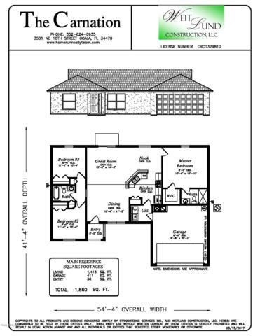 13598 SE 51st Terrace, Summerfield, FL 34491 (MLS #558804) :: Bosshardt Realty