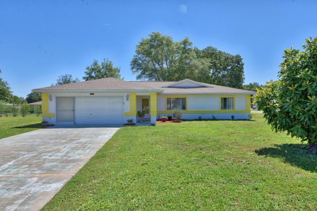 10543 SW 62nd Terrace Road, Ocala, FL 34476 (MLS #560606) :: Bosshardt Realty