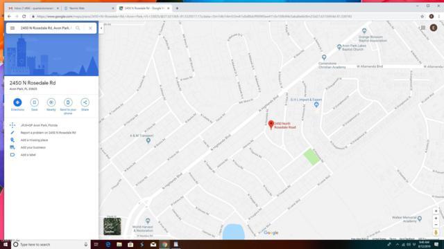 2450 N Rosedale Road, Avon Park, FL 33825 (MLS #560985) :: Pepine Realty