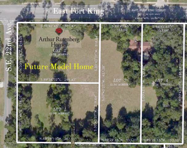 Lot 4 2302 E Fort King Street, Ocala, FL 34471 (MLS #563353) :: Pepine Realty